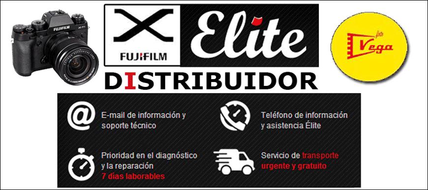 Fuji distribuidor de Elite