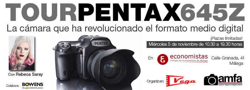 Presentación y Taller de la Pentax 645Z