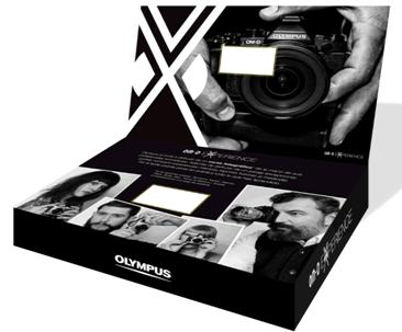 Olympus OMD Experience Caja Regalo