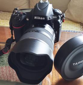 Tamron 15-30mm montado en la Nikon D800e