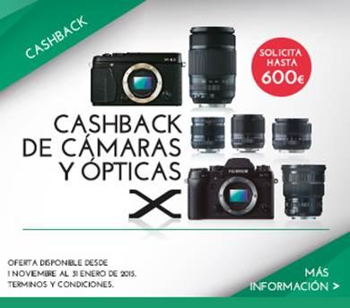 Cashback Fuji Serie X - Descuento